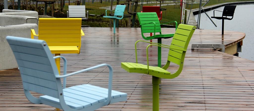 Nola chaise Parco